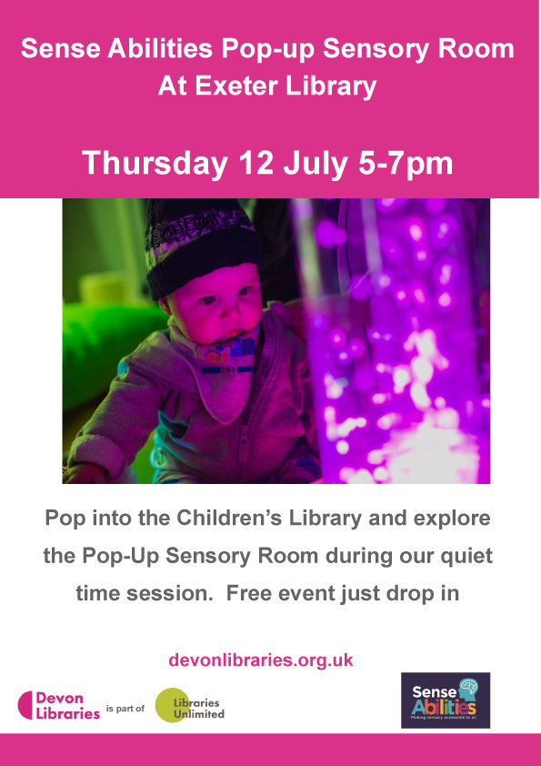 Exeter Library Sensory Quiet time Event
