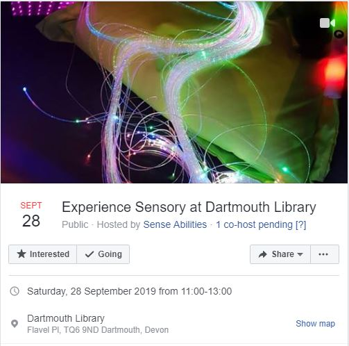 Dartmouth Library sensory session information