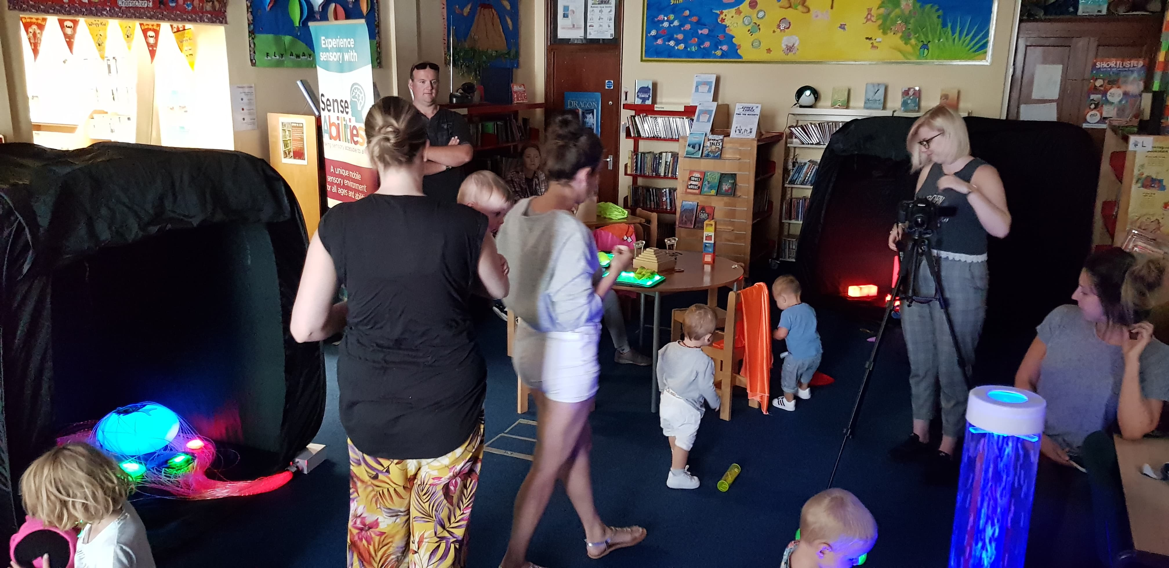 Torquay Library Sensory Session